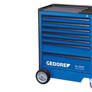 Gedore tool trolley and workbench