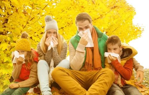 Schnupfen, Erkältung
