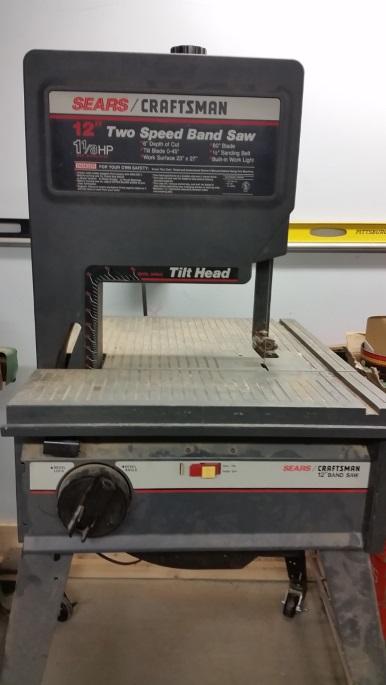 Craftsman 12 Inch 2 Speed Bandsaw