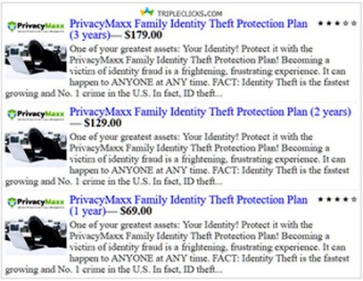 PrivacyMaxx Family Identity Theft Protection Plans