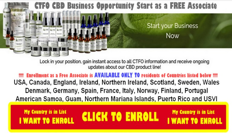 Ctfo Cbd Oil Business Opportunity JOIN NOW