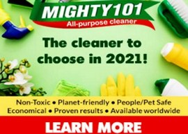 mighty 101 eco-friendly cleaner, non-toxic cleaner