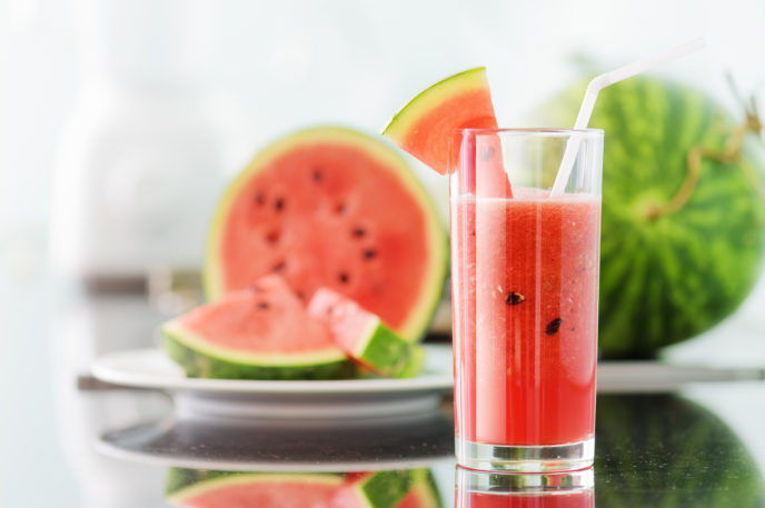 cooling juice watermelon