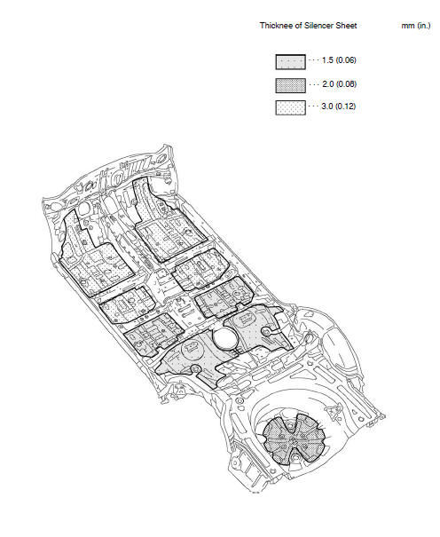 Toyota Corolla Body Repair Manual: Silencer sheet