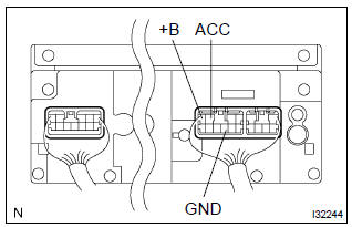 Toyota Corolla Repair Manual: No sound is heard from