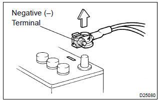 Toyota Corolla Repair Manual: Electronic control