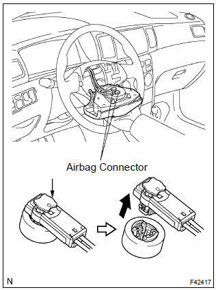 07 Corolla Sterering Column Wiring Harness : 42 Wiring