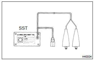 Toyota Corolla Repair Manual: Front seat airbag assy rh