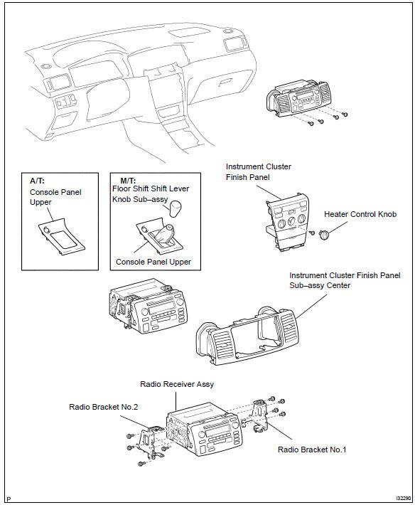 Toyota Corolla Repair Manual: Audio & visual system