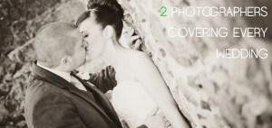 2 wedding photographers