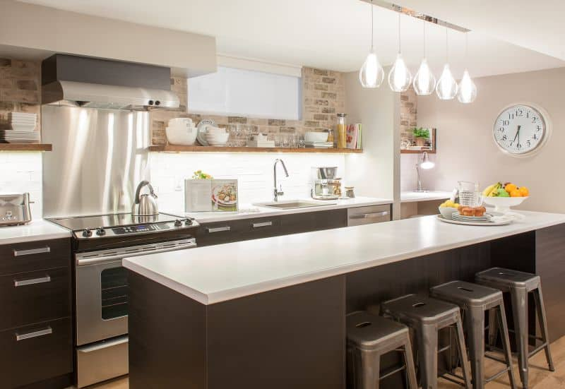 lighting for kitchen vintage formica table led creating the love of light heart home