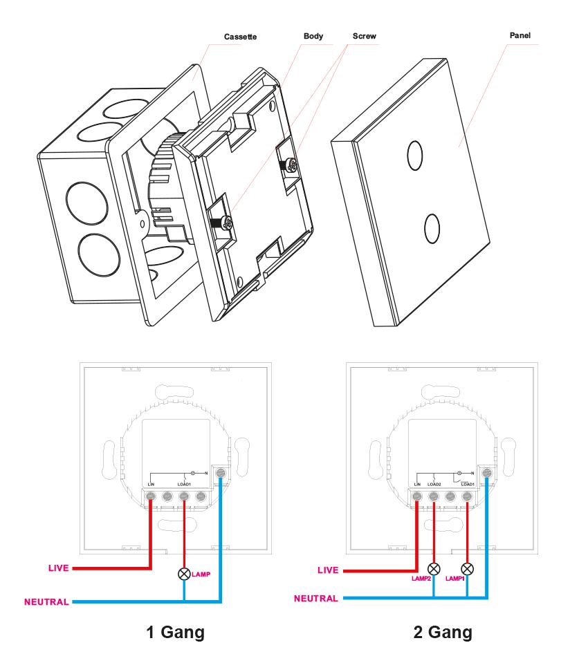 WiFi Smart Switch Instruction Manual