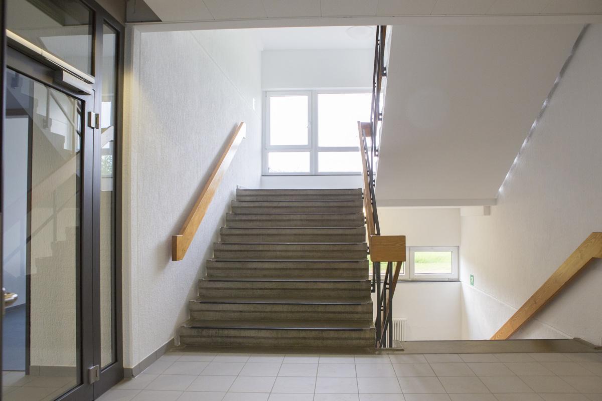 Unterkunftsgebäude 13 - Treppenhaus