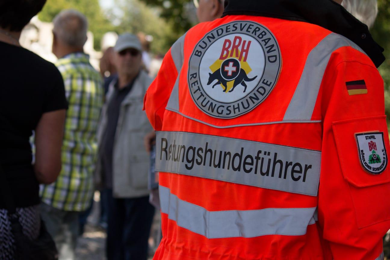 Rettungshundeführer im BRH Bundesverband Rettungshunde