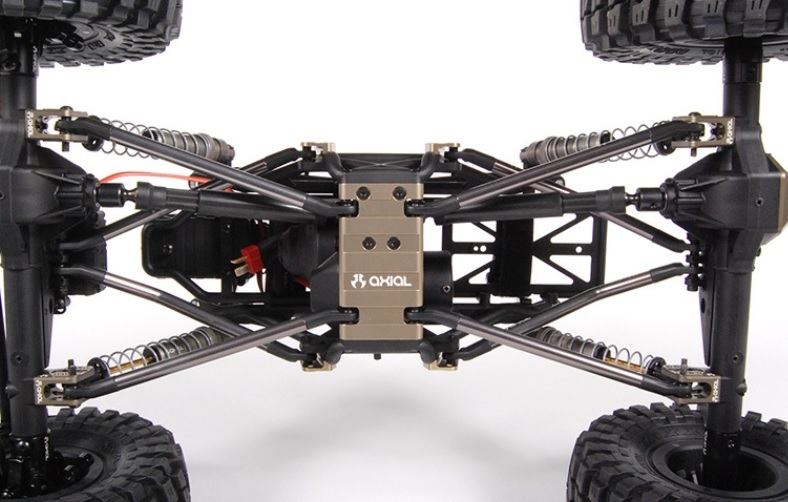 Disabled Axial Racing AX10 Aluminum Skid Plate AX31100