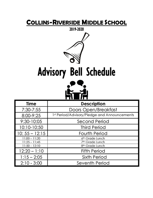 Our Schedules / Bell Schedules