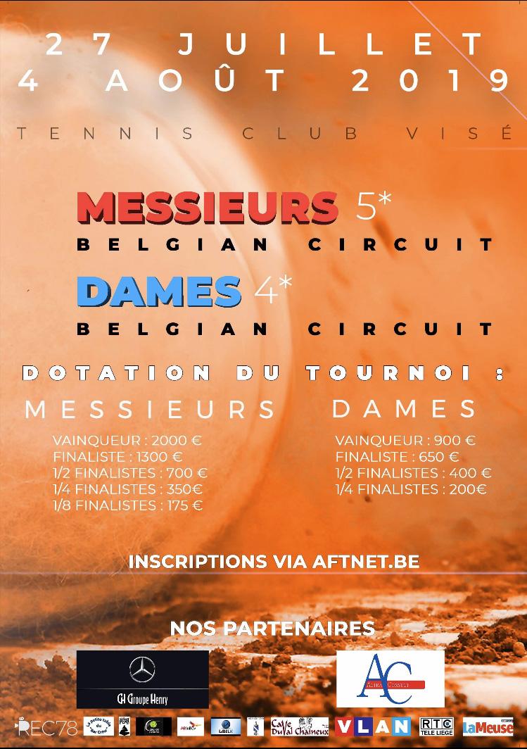 Tournoi Belgian Circuit 2019