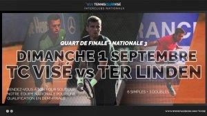 ¼ Finale Nationale 3 TC Visé @ TC Visé