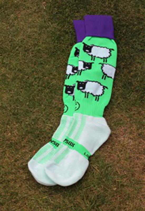 Hockey Kleding Kousen Sheep Green