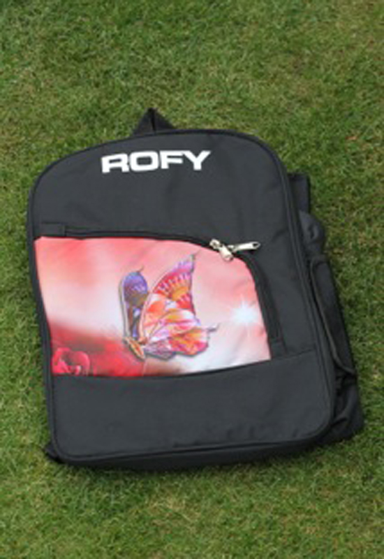 Rofy Hockey Backpack Butterfly