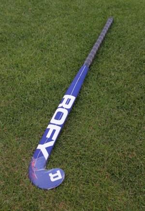 Rofy Hockey Stick Senior Ind Camo Blue