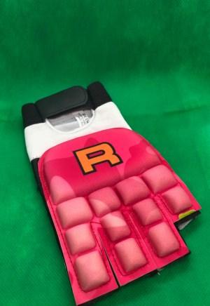 Hockey Bescherming Handschoen half Rofy Pink