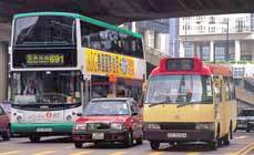運輸署 - 公共交通工具車輛