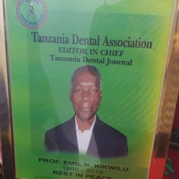 About Deceased Prof Kikwilu