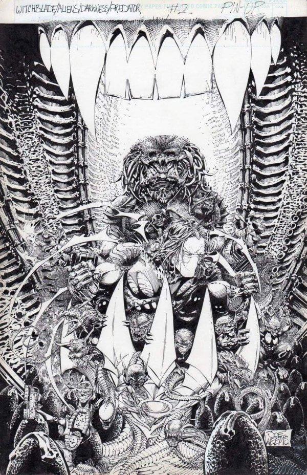 Witchblade Alien Darkness Predator Overkill