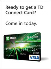 how to cancel td bank debit card