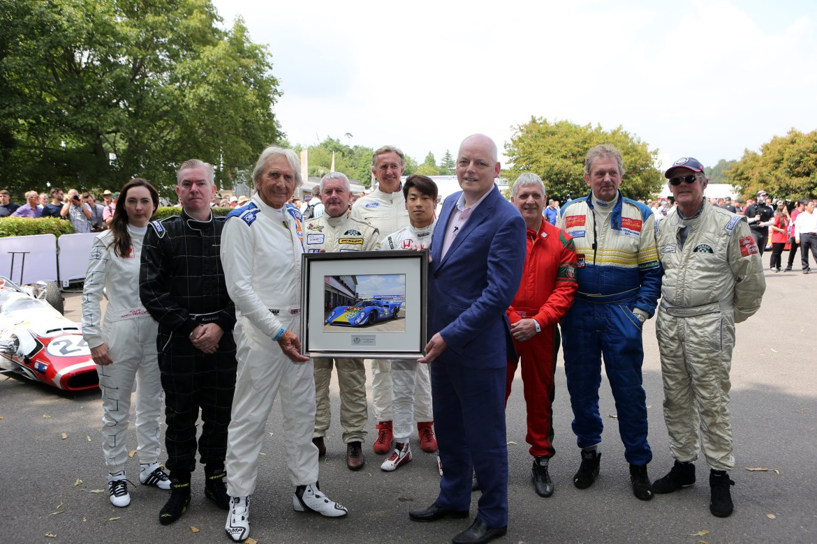 2. Derek Bell, Howard Dawson and Lola drivers at the Festival.jpg