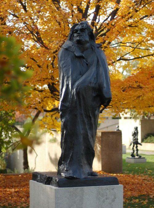 Monument Balzac Paris rodin