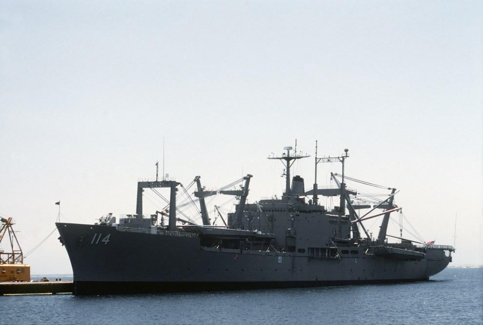 USS DURHAM (RIMPAC'ta Batırılan Gemi)