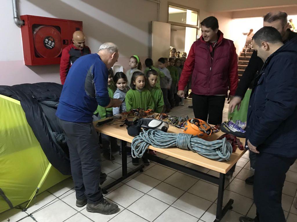 Bursa'da ilköğretim okullarına yönelik tanıtım günleri yapıldı.