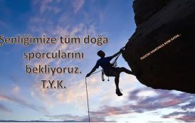 TODOSK 18. Ulusal Kaya Tırmanış Şenliği Daveti