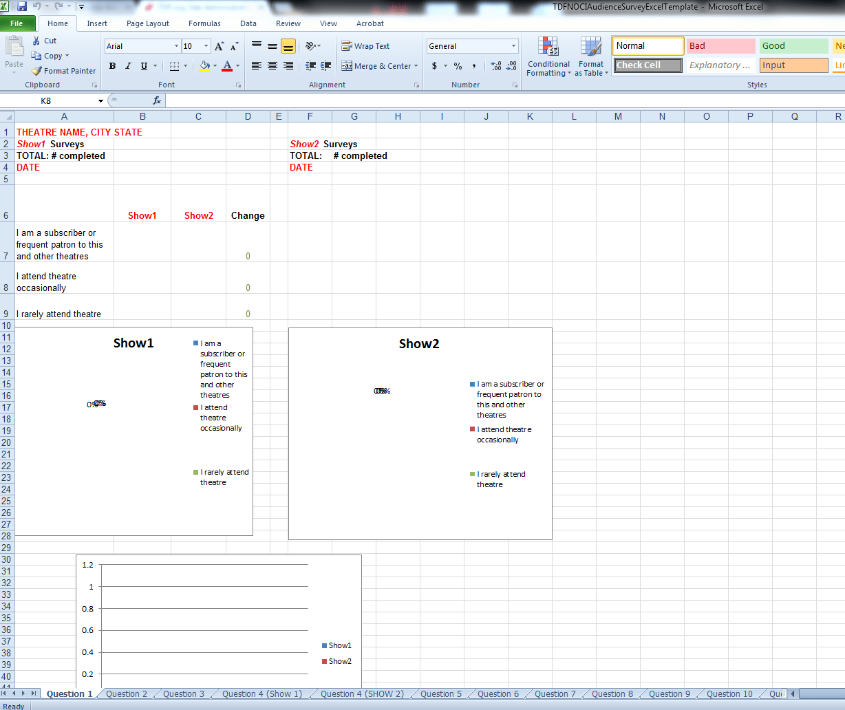 Download Survey Template Image Of Excel Sheet