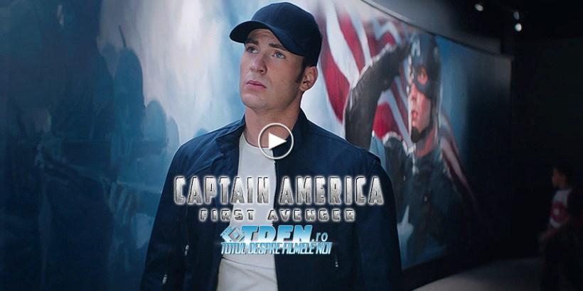 Captain America: The First Avenger Devine Salvatorul Omenirii În Primul Trailer
