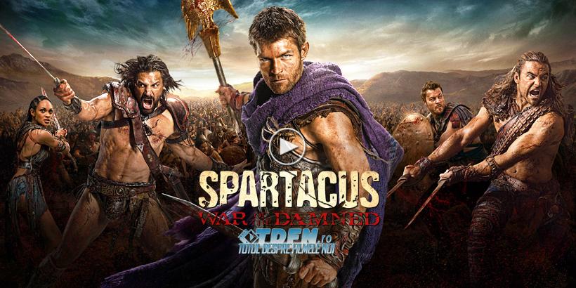 Sezonul 3 Spartacus War Of The Damned Aduce Primul Teaser Trailer Pentru Ultimul Sezon Al Serialului