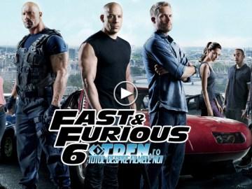 FAST AND FURIOUS 6: Vezi Trailerul FINAL Cu Cadre Noi De Acţiune Extinsă Şi Multă Adrenalină
