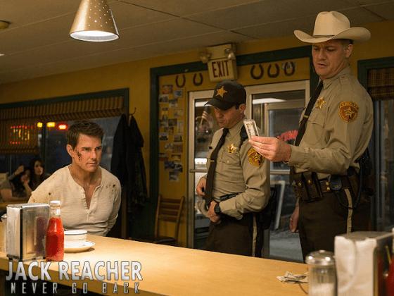 Tom Cruise în Jack Reacher: Never Go Back