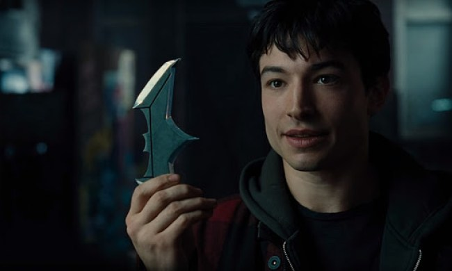 Ezra Miller (Flash) în Justice League