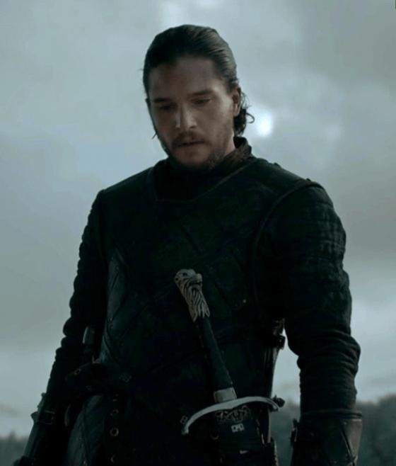 Jon Snow în Episodul 9 Sezonul 6 Game Of Thrones: Battle Of The Bastards