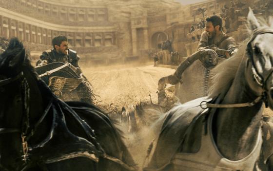 Toby Kebbell şi Jack Huston în filmul Ben-Hur 2016