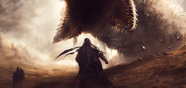 Dune Concept Art: Worms