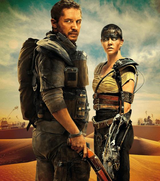 Mad Max: Fury Road, Tom Hardy şi Charlize Theron