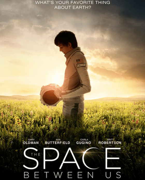 Poster THE SPACE BETWEEN US