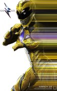 Poster Power Rangers: Yellow