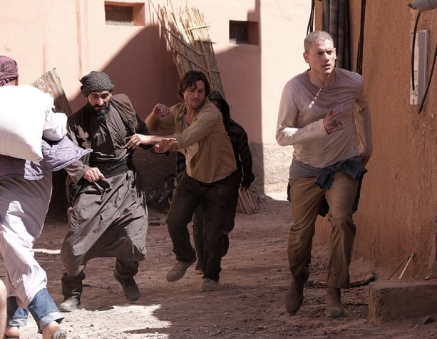 PRISON BREAK SEZONUL 5: Dominic Purcell, Wentworth Miller