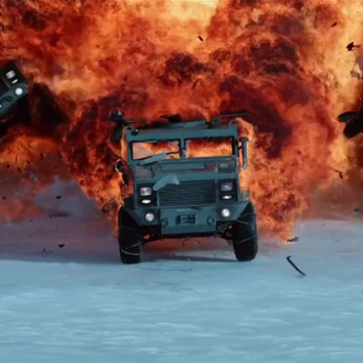 The Fate Of The Furious: Explozie in Antartica