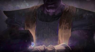 Avengers Infinity War: Concept Art Thanos